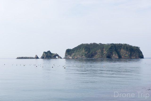 千葉県鋸南町の浮島